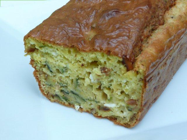 Recette Cake Courgettes Pignons Basilic