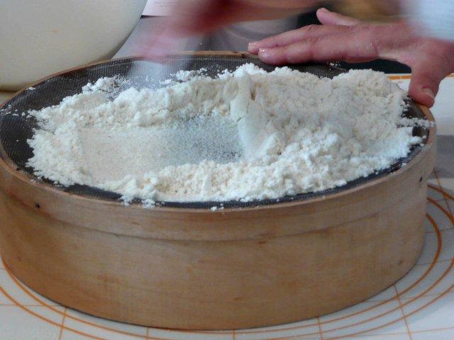 tamiser laisser croter des macarons - Colorant Alimentaire En Poudre Pour Macarons