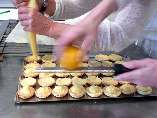 tamiser laisser croter des macarons garnir des macarons - Colorant Alimentaire En Poudre Pour Macarons