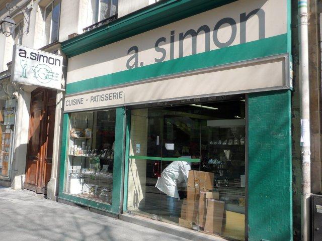 A simon 48 52 rue montmartre 75002 paris mat riel de for Materiel de cuisine paris