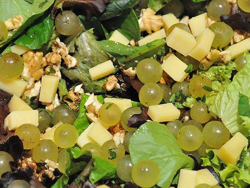 Salade d 39 automne aoc entr e recette - Entree d automne ...