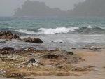 Plage sur l'île de São Tomé