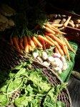 Marché bio des Batignolles - légumes