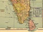 Inde du Sud et Côte de Malabar - Carte de 1903